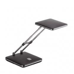 lampa na biurko, mostra, czarna, led