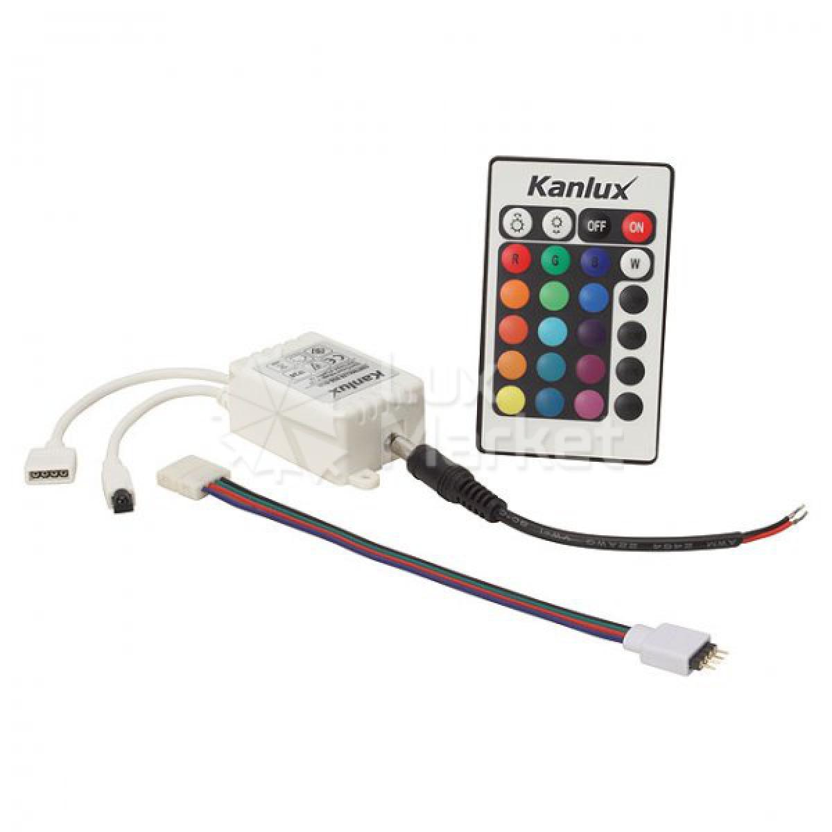 diody RGB, oświetlenie LED RGB, system LED RGB, LED RGB